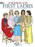 America's First Ladies Coloring Book (Dover History Coloring Book)