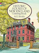 Historic Houses of New England Coloring Book af Coloring Books, A. G. Smith