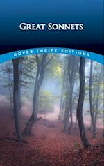 Great Sonnets (Dover Thrift Editions)