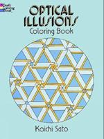 Optical Illusions Coloring Book af Coloring Books for Adults, Koichi Sato