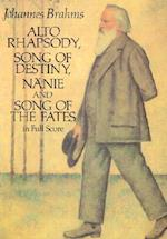 Alto Rhapsody, Song of Destiny, Nanie and Song of the Fates in Full Score af Johannes Brahms