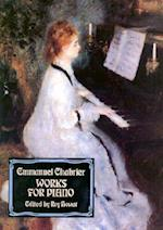 Works for Piano af Emmanuel Chabrier, Classical Piano Sheet Music, Roy Howat