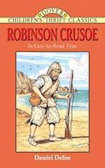 Robinson Crusoe af Robert Blaisdell, Children's Dover Thrift, Daniel Defoe