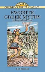 Favorite Greek Myths af Bob Blaisdell