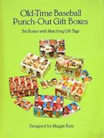 Old-Time Baseball Punch-Out Gift Boxes (Punch Out Gift Boxes)