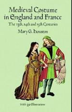 Medieval Costume in England and France (Dover Fashion and Costumes)