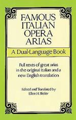 Famous Italian Opera Arias (Dual-Language Book)
