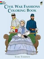 Civil War Fashions Coloring Book (History of Fashion)