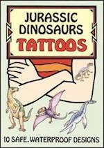 Jurassic Dinosaurs Tattoos (Dover Tattoos)