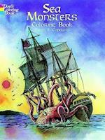 Sea Monsters Coloring Book (Dover Coloring Books)