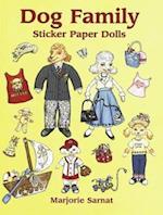 Dog Family Sticker Paper Dolls [With Stickers] af Sarnat, Marjorie Sarnat, Paper Dolls