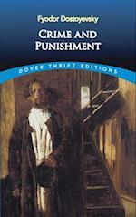 Crime and Punishment af Dover Thrift Editions, Fyodor Mikhailovich Dostoevsky, Fjodor Dostojevskij