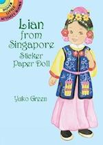 Lian from Singapore Sticker Paper Doll (Dover Little Activity Books)