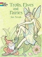 Trolls, Elves and Fairies Coloring Book (Dover Coloring Books)