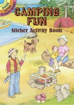 Camping Fun Sticker Activity Book [With Stickers]