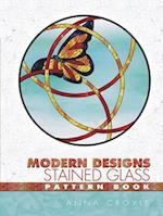 Modern Designs Stained Glass Pattern Book (Dover Stained Glass Instruction)