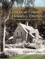 American Country Houses of the Thirties (Dover Books on Architecture)