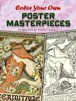 Color Your Own Poster Masterpieces af Marty Noble