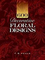 600 Decorative Floral Designs (Dover Pictorial Archives)