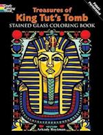 Treasures of King Tut's Tomb Stained Glass Coloring Book af Arkady Roytman