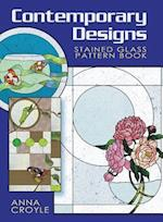 Contemporary Designs Stained Glass Pattern Book (Dover Stained Glass Instruction)