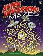 Alien Invasion! Mazes (Dover Pictorial Archives)