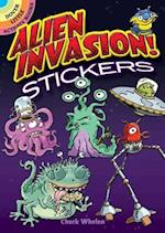 Alien Invasion! Stickers (Dover Little Activity Books)
