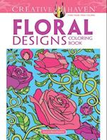 Floral Designs (Creative Haven Coloring Books)