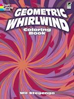 Geometric Whirlwind Coloring Book