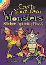 Create Your Own Monsters Sticker Activity Book (Dover Little Activity Books)