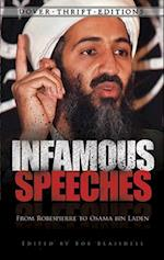 Infamous Speeches (Dover Thrift Editions)