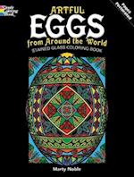 Artful Eggs from Around the World Coloring Book (Dover Stained Glass Coloring Book)