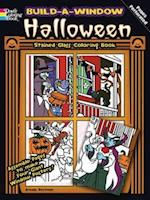 Build a Window Stained Glass Coloring Book Halloween af Arkady Roytman