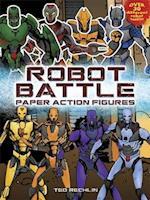 Robot Battle Paper Action Figures