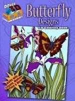 3-D Coloring Book -- Butterfly Designs
