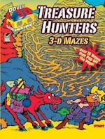 Treasure Hunters (Dover 3-D Coloring Books)