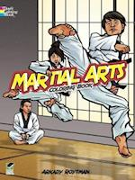 Martial Arts Coloring Book af Arkady Roytman