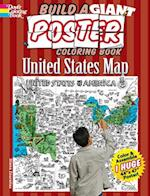 Build a Giant Poster Coloring Book - United States Map af Diana Zourelias