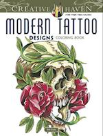 Creative Haven Modern Tattoo Designs Coloring Book af Erik Siuda