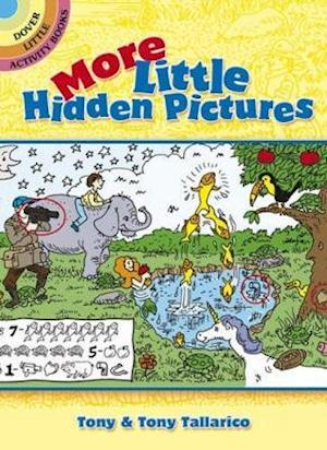 Bog, paperback More Little Hidden Pictures af Tony Tallarico, Activity Books