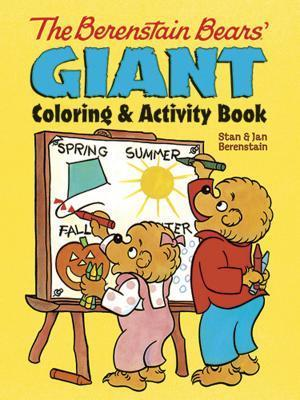 The Berenstain Bears Giant Coloring and Activity Book