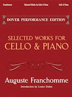 Selected Works for Cello and Piano (Dover Chamber Music Scores)