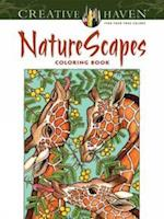 Creative Haven NatureScapes Coloring Book (Creative Haven Coloring Books)