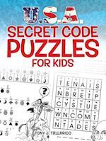 U.S.A. Secret Code Puzzles for Kids af Tony Tallarico