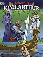 The Adventures of King Arthur Coloring Book af Arkady Roytman