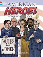 American Heroes Coloring Book af Steven James Petruccio