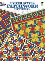 United States Patchwork Patterns Coloring Book af Carol Schmidt