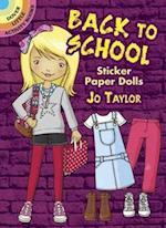 Back to School Sticker Paper Dolls af Jo Taylor