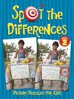 Spot the Differences Picture Puzzles for Kids Book 2 (Dover Children's Activity Books)