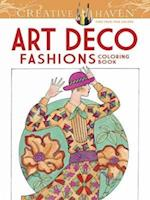 Art Deco Fashions Adult Coloring Book